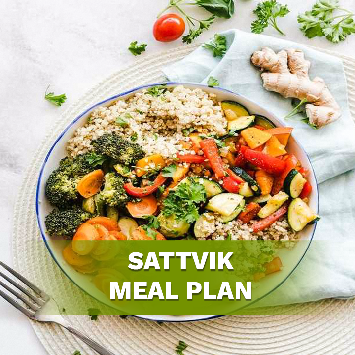 Sattvic Meal Plan for Weight Loss Fast